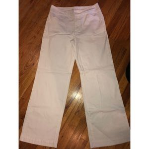 Style & Co white wide leg jeans